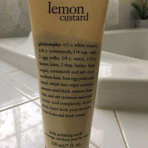 Philosophy lemon custard body polishing scrub